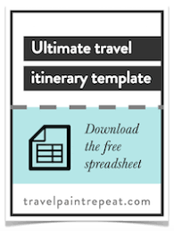 The Travel Itinerary Template I Use To Plan All My Trips (Free ...