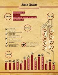 1224 Best Infographic Resumes Images On Pinterest Resume Design
