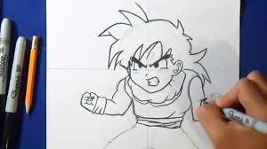 Comment Dessiner Gohan Dragon Ball Z Youtube Comment Dessiner Vegeta Dragon Ball Z Youtube L