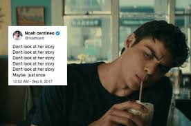 We all remember noah centineo leaving a thirsty comment about selena gomez on instagram earlier this month. 17 Noah Centineo Tweets That Prove He S Even More Romantic Than Peter Kavinsky Noah Movie Quotes Romantic