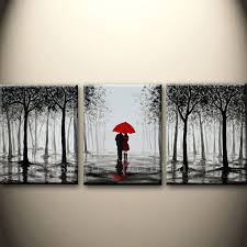 top hand painted black and white style abstract wall art canvas picture handmade couple with red on couple with red umbrella wall art with top hand painted black and white style abstract wall art canvas