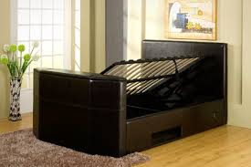 tv bed with storage.  Bed Charming White Tv Bed With Storage 90 In Small Home Remodel Ideas With