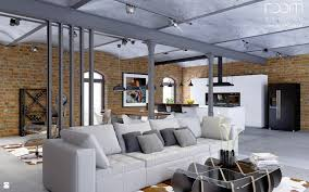 salon styl industrialny zdjęcie od room studio salon styl industrialny room studio