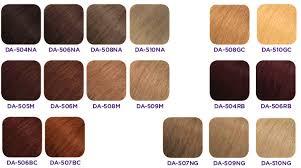 Dream Age Color Chart 27 Unmistakable Matrix Mocha Hair Color