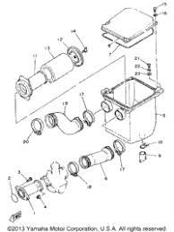 1986 yamaha moto 4 yfm225s oem parts babbitts yamaha partshouse air filter