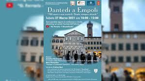 """Dantedì a Empoli """"700 anni e non sentirli: Dante sempre attuale"""" -  Ministero della cultura"""
