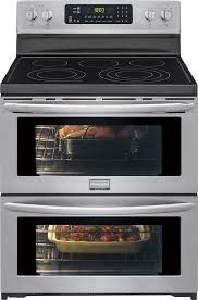 frigidaire gallery 7 2 cu ft self cleaning freestanding double oven electric convection