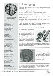Ontactblad Van De Historische Vereniging Oud Wageningen