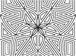 Free Geometric Coloring Pages For Adults Zatushokinfo