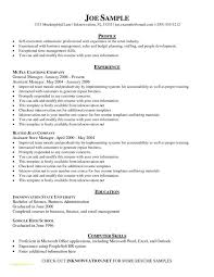 Easy Resume Samples With Resume Example Free Basic Resume Templates