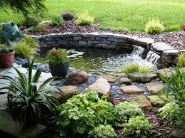 Small Picture backyard 58 Small Garden Pond Designs Edging Stones Design
