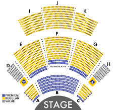 Seating Chart The Carolina Opry