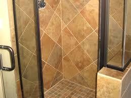 shower walls tile floor
