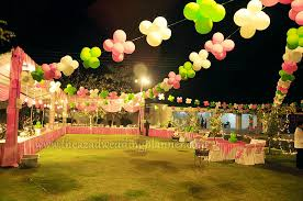Nice Outside Birthday Party Decoration Ideas With Ballon Decoration Tent Decoration  Birthday Catering Birthday Catering