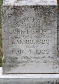 Edith Matilda Wade Shores (1820-1905) - Find A Grave Memorial