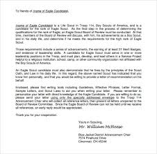 Eagle Scout Letter Of Recommendation New Eagle Scout Letter Of Recommendation Religious Sample Kubreeuforicco