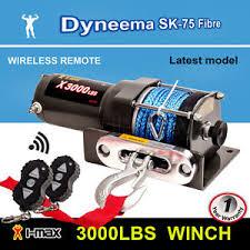 i max 12v wireless 3000lbs 1361kgs electric winch synthetic image is loading i max 12v wireless 3000lbs 1361kgs electric winch