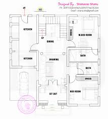kerala home plan single floor lovely 30 60 house floor plans indian house designs and