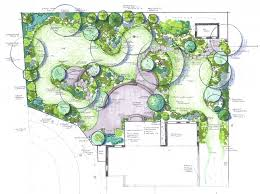 Small Picture Flower Garden Drawing Design Home Design Ideas