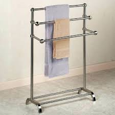 hand towel holder brushed nickel. Countertop Hand Towel Stand Stands For Bathrooms Medium Size Of  Portable Rack . Holder Brushed Nickel