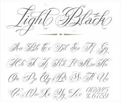 Fancy Cursive Letters Tattoos Ideas Letter I Cool In Tattoo Format
