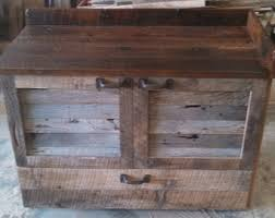 rustic barn cabinet doors. Your, Made To Order Rustic Barn Wood Vanity Or Cabinet With 2 Louver Doors And A Drawer
