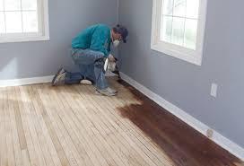 how to paint wood floors you carpet vidalondon can you refinish laminate flooring