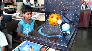 grade science project earth moon sun
