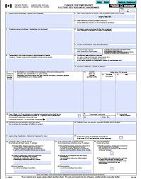 Create An Invoice Free Canada Customs Invoice Free Canada Customs Commercial Invoice 22