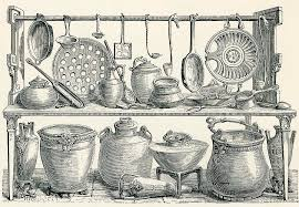 Kitchen Utensils Drawings Fine Art America