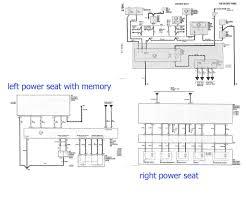 problem power seat need wiring diagram help please this is a wiring diagram a power seats left memory