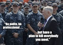 General Mattis Quotes Gorgeous Our Secretary Of Defense General James Mattis Quotes The Leading