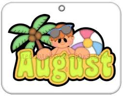 August Clip Art 15784 My Journal Started On 1 21 201 7