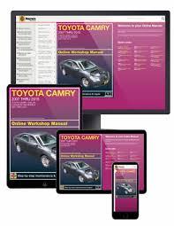 Toyota Camry & Avalon & Lexus ES 350 Online Service Manual, 2007-2015