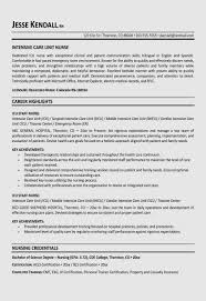 Nursing Student Resume Template Free Critical Care Nursing Resume
