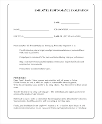 Job Evaluation Template Job Performance Evaluation Form Templates Elegant Self Assessment ...