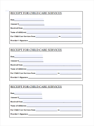Blank Receipt For Services Rendered Bill Of Sale Template