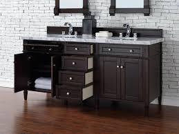 bathroom vanity no top. Contemporary 72 Inch Double Bathroom Vanity Mahogany Finish No Top N