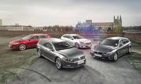 VW Passat Estate vs Ford Mondeo vs BMW 3-series Touring vs Mazda 6 ...