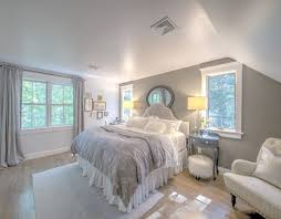 ideas light blue bedrooms pinterest: shingle cape cod home with blue kitchen ceiling the paint color is rockport gray by benjamin