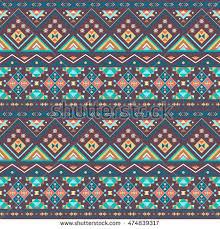 Boho Patterns Extraordinary Ethnic Boho Seamless Patterns Vintage Ornament Stock Vector Royalty