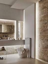 powder room bathroom lighting ideas. kolorystyka naturalna elementy i podwietleniaale podwietlechyba troch za duo powder room lightingwall lightingbathroom bathroom lighting ideas