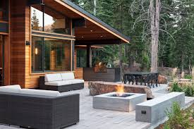 Contemporary Outdoor Fire Pits Fire Pit Grill Ideas