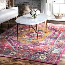 pink lavish abstract antique area rug nuloom overdyed