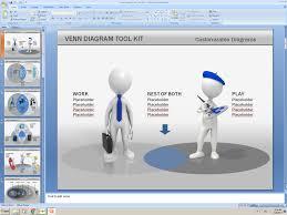 venn diagram drawer powerpoint venn diagram tool kit presentation kit