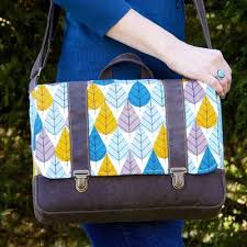 Messenger Bag Pattern Beauteous Midtown Messenger Bag Pattern Love To Sew