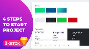 How To Start A Design Project How To Start Sketch Design Project In 4 Steps