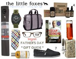 the little fo vegan eco friendly fathers day gift guide