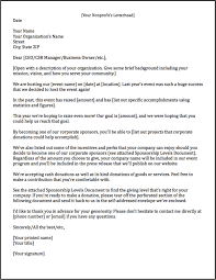 sponsorship letters learn how to raise more money examples example of a sponsorship letter requesting monetary donations