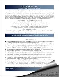 Executive Resume Examples 2012 Free Resume Templates 2018